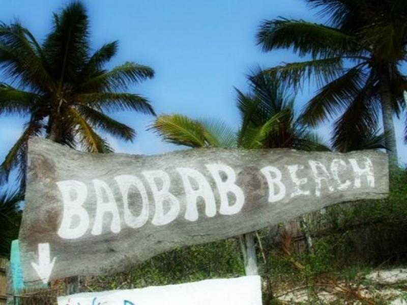Baobab beach
