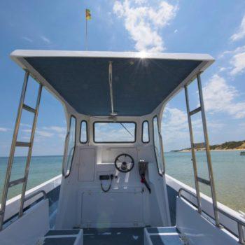 boat command seat