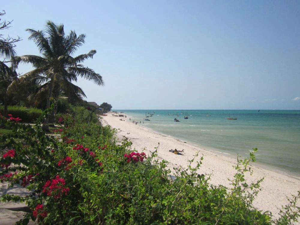 Superior beach front chalet
